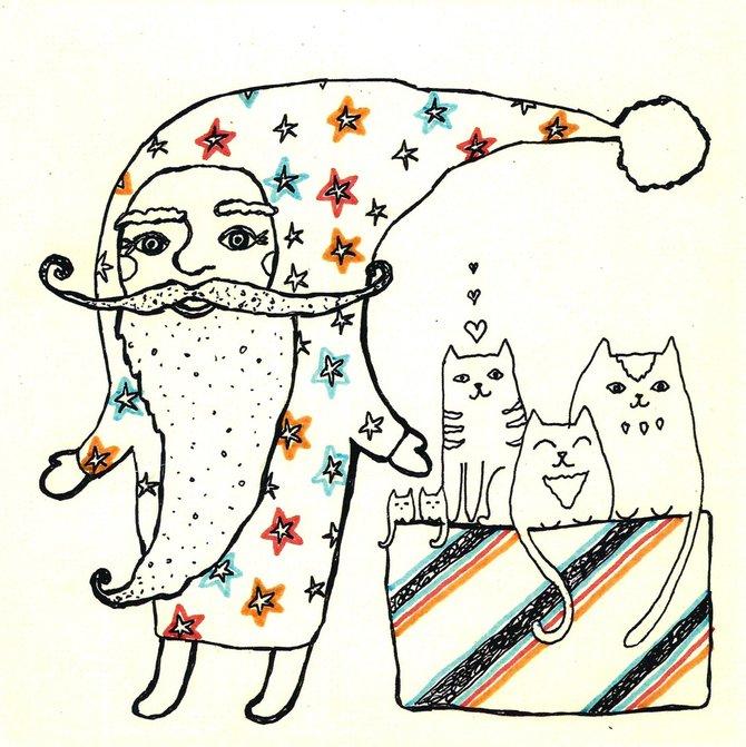 Авторская открытка от Аси Масловой