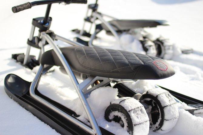 Первый в мире Электрический снегокат для детей SnowRunner (5,2Ah)