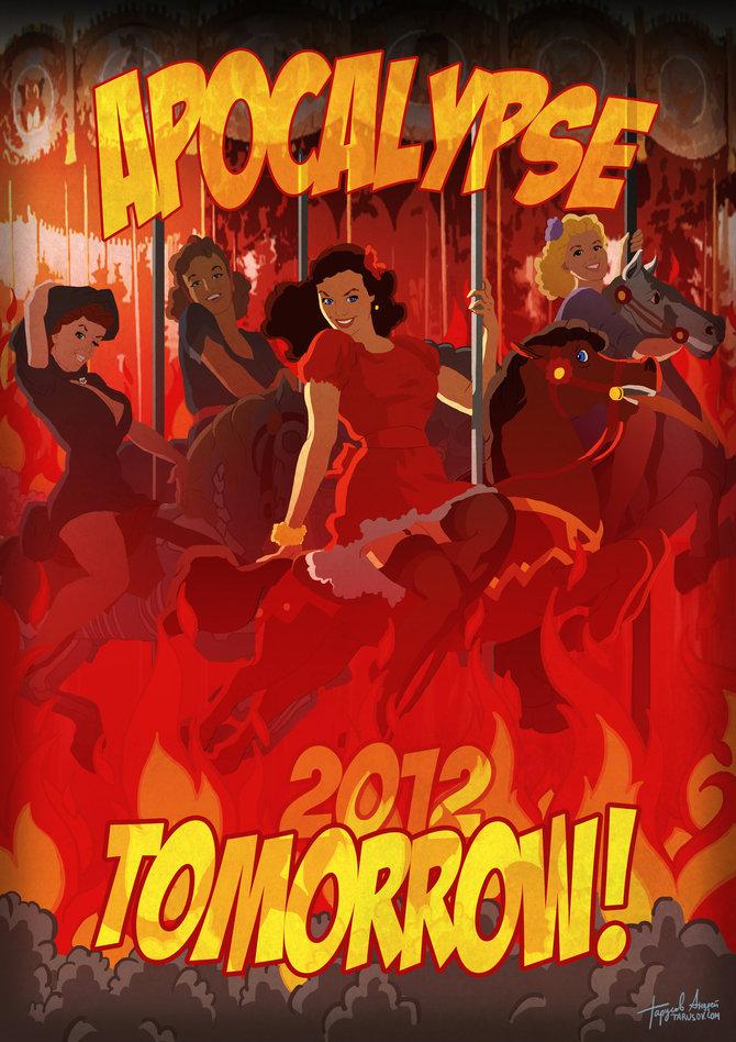 Календарь «Apocalypse Tomorrow 2012»
